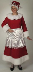 REGAL RED VELVET MRS. CLAUS SUIT