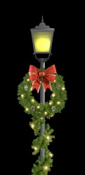 3' SIGNATURE SERIES BOW WREATH - CENTER MOUNT
