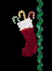 7.5' TRADITIONAL CHRISTMAS STOCKING