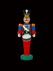 "75"" TOY SOLDIER WITH DRUM"