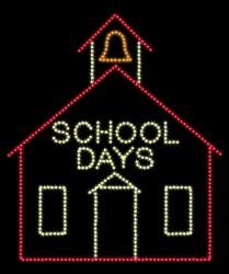 19' x 16' LITTLE RED SCHOOL HOUSE
