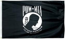 POW-MIA FLAGS  (SINGLE FACE)