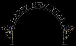 29' x 51' HAPPY NEW YEAR ARCH