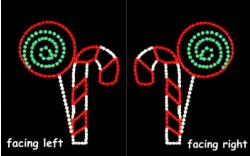 LOLLIPOP AND CANDY CANE