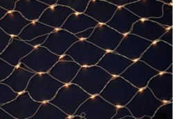 150 MINI LIGHT INCANDESCENT CLEAR NET LIGHTS