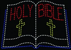 8' x 13' HOLY BIBLE