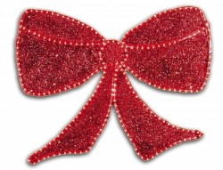 DELUXE GLITTER BOW