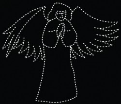 12' ANGEL PRAYING