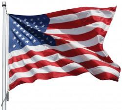 ENDURA-NYLON U. S. FLAGS