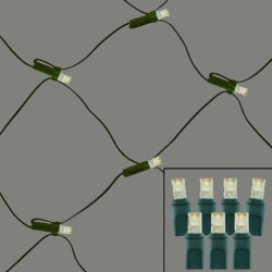 100 LIGHT LED NET LIGHTS - CASE SALE