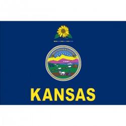KANSAS NYLON OUTDOOR STATE FLAGS