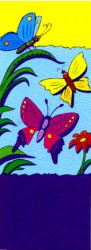 BUTTERFLIES WITH FLOWER