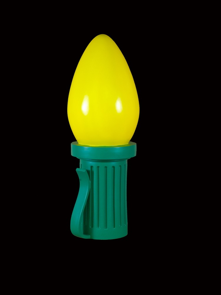6 giant christmas light bulbs