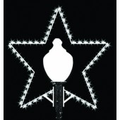 5 1/2' SILHOUETTE STAR LAMP COVER