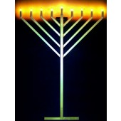 6' TRADITIONAL MENORAH
