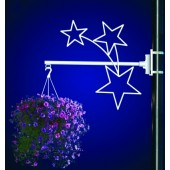 STARS FLOWER BASKET HOLDER