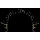 29' x 51' HAPPY NEW YEAR ARCH