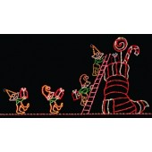24' x 50' ELVES LOADING STOCKING