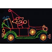 11' x 18'  ELF IN ANTIQUE CAR