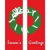 SEASON'S GREETING  WREATH