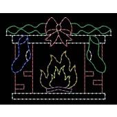 7' x 9' Fireplace