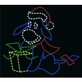 8' CHRISTMAS DONKEY