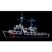 11' x 20' COAST GUARD CUTTER
