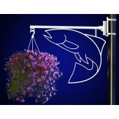 FISH FLOWER BASKET HOLDER