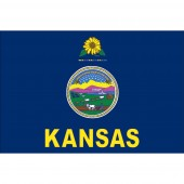 KANSAS POLY-MAX OUTDOOR STATE FLAGS