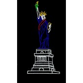 30' X 15' LADY LIBERTY ON MONUMENT