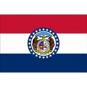MISSOURI NYLON OUTDOOR STATE FLAGS