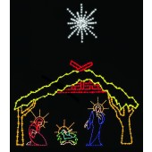 DELUXE NATIVITY SCENE WITH STAR