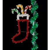 5' SPARKLING STOCKING
