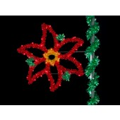 4' SPARKLING HOLIDAY POINSETTIA