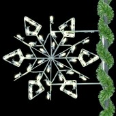 3' WINTERFEST DIAMOND SNOWFLAKE