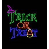 TRICK OR TREAT SIGN