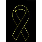SILHOUETTE YELLOW RIBBON
