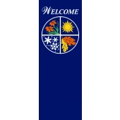 FOUR SEASONS WELCOME ON BLUE