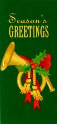 SEASON'S GREETINGS WITH FRENCH HORN
