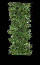 "12"" DELUXE MOUNTAIN PINE BRANCHED GARLANDS"