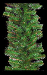 "16"" MOUNTAIN PINE BRANCHED GARLANDS"