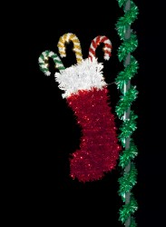 7.5' TRADITIONAL CHRISTMAS STOCKING