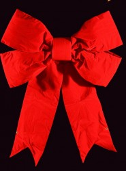 STRUCTURAL 3-D BOW WITH RED NYLON