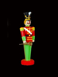 "75"" TOY SOLDIER WITH HORN"
