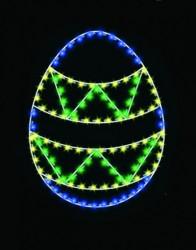 5' SILHOUETTE EASTER EGGS