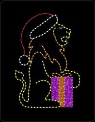 10' CHRISTMAS LION