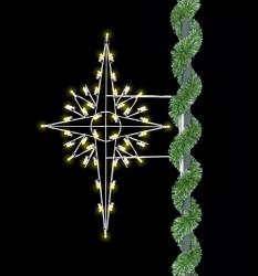 5' SILHOUETTE BETHLEHEM STAR