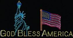 24' x 47' GOD BLESS AMERICA