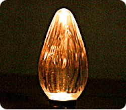 F-50 AMBER LED FLAME TIP LAMPS