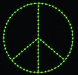 8' PEACE SYMBOL